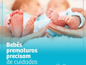 Bebês Prematuros Precisam de Cuidados!