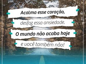 Você sabia que o Brasil é considerado o maior País com pessoas ansiosas?
