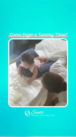 Como fazer o Tummy Time