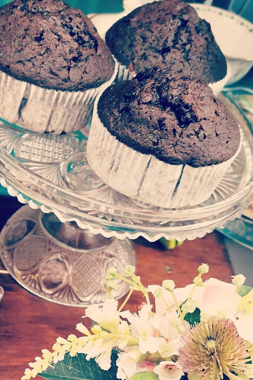 Giant Chocolate Muffin