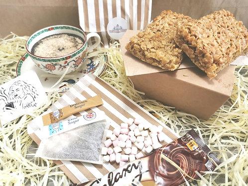 Gift Set- Vegan & Gluten Free Flapjacks & Candle