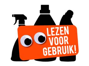 Redactie van teksten over het gevaar van chemische producten in huis