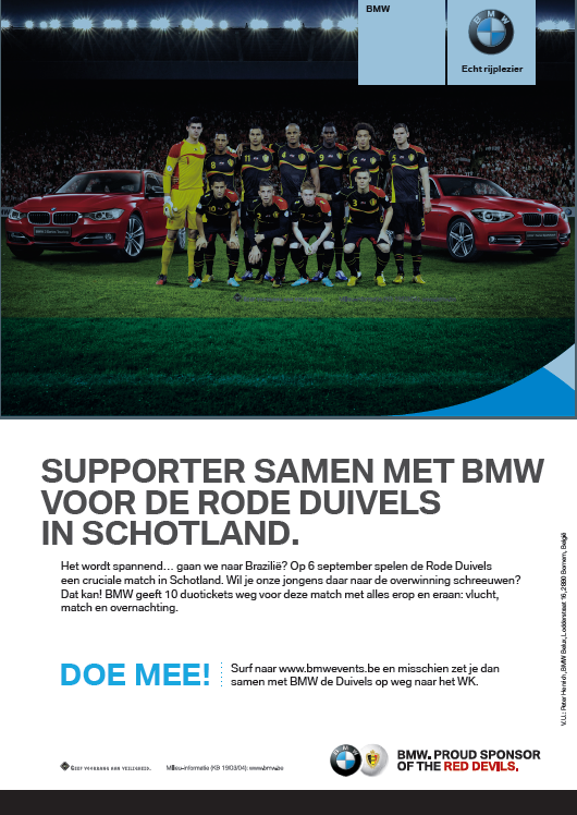 Copywriter BMW Rode Duivels