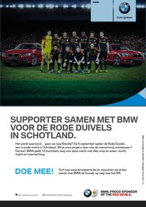 Copywriter BMW Rode Duivels