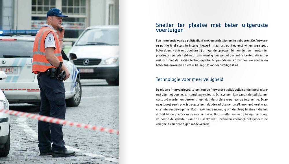 Copywriter politie Antwerpen