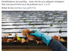 Facebookbericht voor Aquaplan