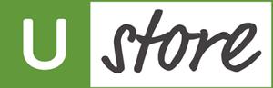 Logo Ustore over SEO website