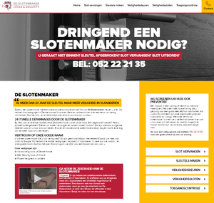 Copywriter SEO webteksten De Slotenmaker