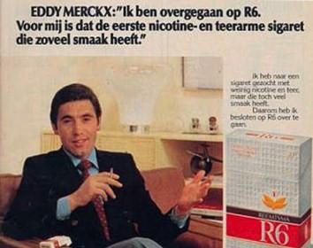 Eddy Merckx - De sigaret van de sportman.