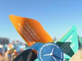 15.000 windmolens op het strand