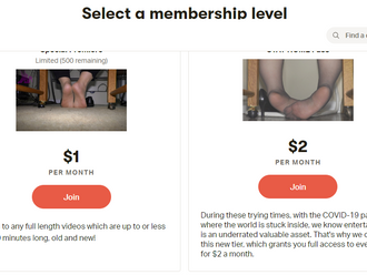 [NOTICE] Stream ALL VIDEOS for only $2 per month on Patreon. STAY HOME!!