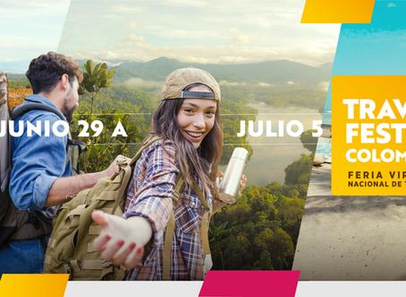 TRAVEL FEST COLOMBIA, EL EVENTO VIRTUAL PARA REACTIVAR EL TURISMO