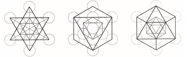 metatrons cube and platonic solids_edite