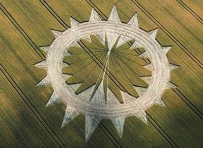 Galactic Butterfly Hunab Ku Crop Circle