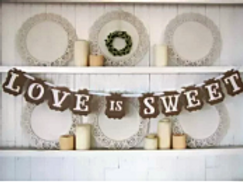 Love is Sweet Banner