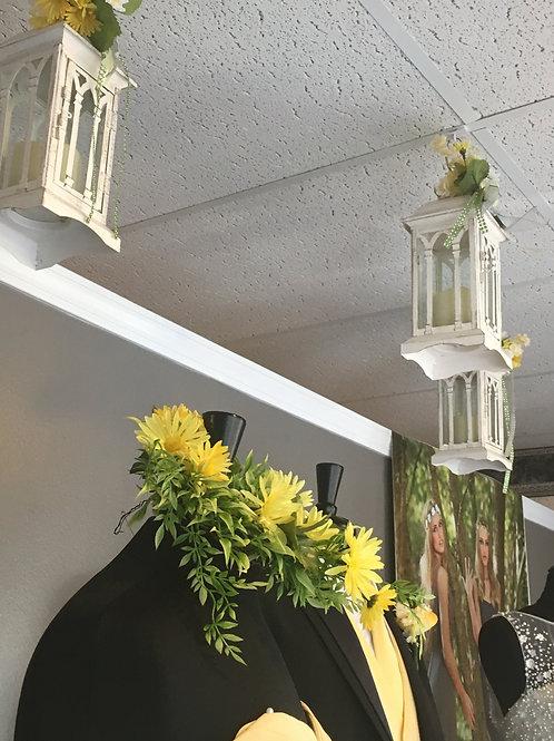 White LED Candle Lantern