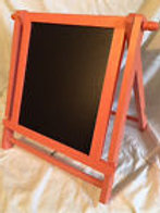 Coral Chalkboard Stand