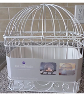 Bird Cage Gift Card Holder