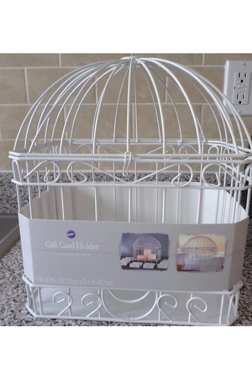 Bird Cage Gift Card Holder