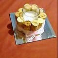 Wine Cork Candle with Mirror