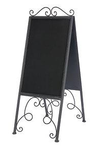 Metal Chalkboard Easel Sign
