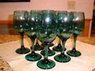 Juniper Green Goblets
