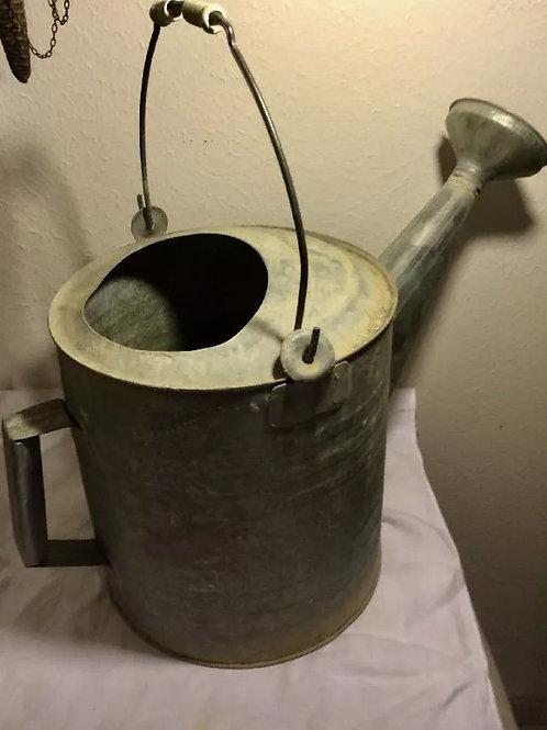Rustic Galvanized Metal Waterer
