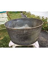 Large Galvanized Steel Bucket