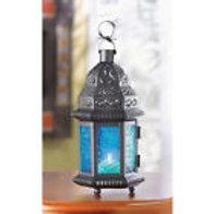 Morracan Style Blue Lanterns