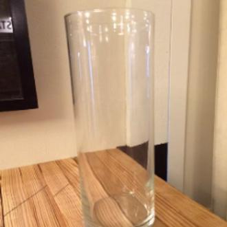 Eastland Glass Cylinder Vase 10.5 in
