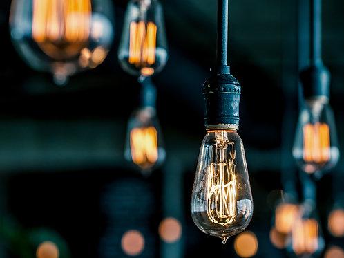 48' Vintage Hanging Edison Lights