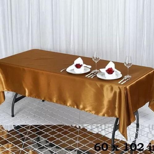 Gold Rectangular Tablecloths