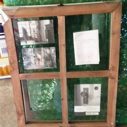 Wooden Window Picture Frame