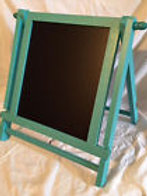 Turquoise Chalkboard Stand
