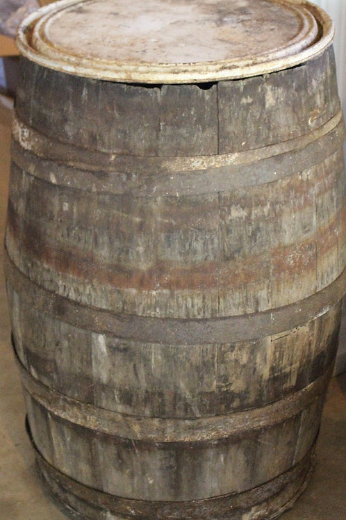Rustic Kentucky Bourbon Barrel