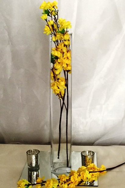 "22"" Square Tall Vases"