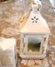 Small White Wedding Lanterns