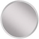 "8"" Round Beveled Edge Mirror"