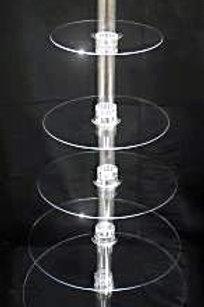 Extra Large Acryllic Cupcake Stand