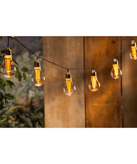 10 Edison Bulb String Light