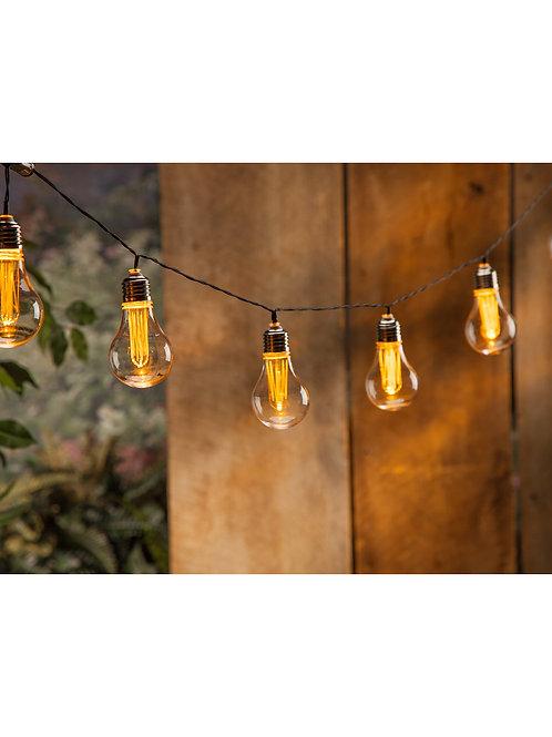 10 Edison Bulb String Light
