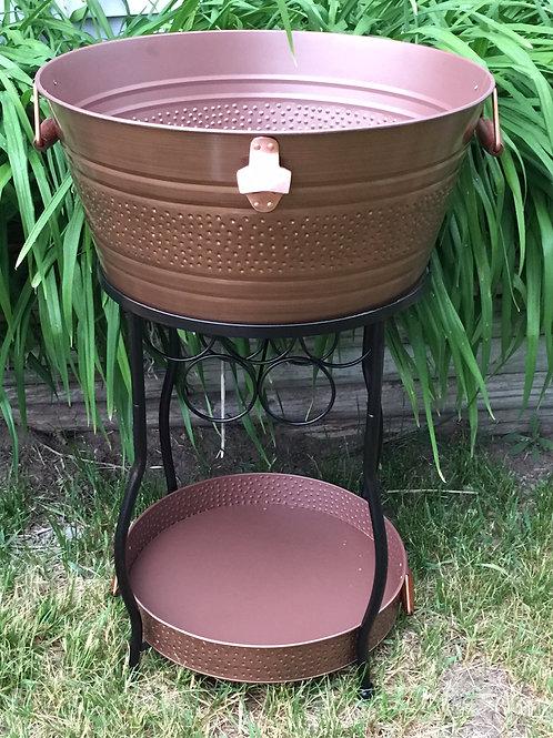 Bronze Beverage Tub Stand