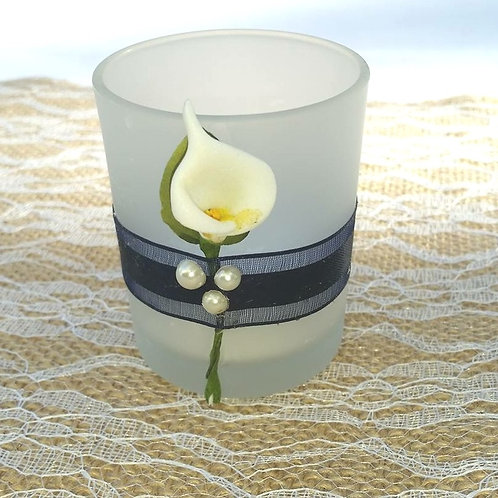 Handmade Calla Lilly Votive Holders