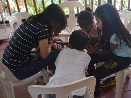 Making a difference at a Church Youth Camp