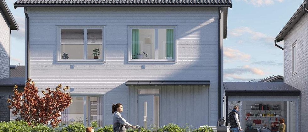 LAVENDELN / 44 småhus med 5 rum i Nacka/Ältadalen / BONAVA