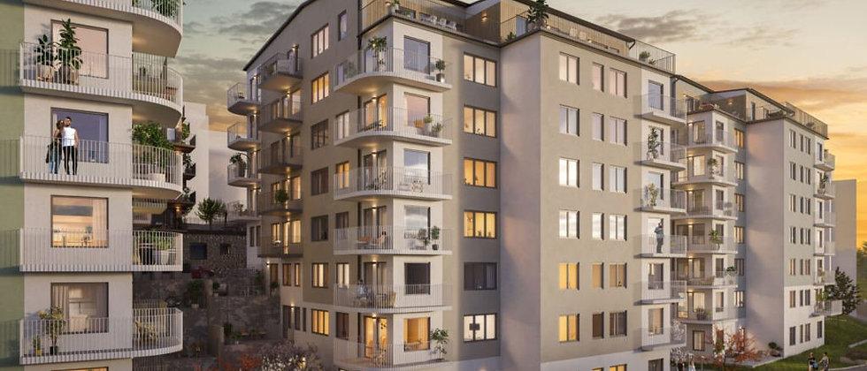 ALTIA VAKTSTUGAN / 106 lägenheter med 1-5 rum i Sundbyberg/Ursvik / JÄRNTORGET