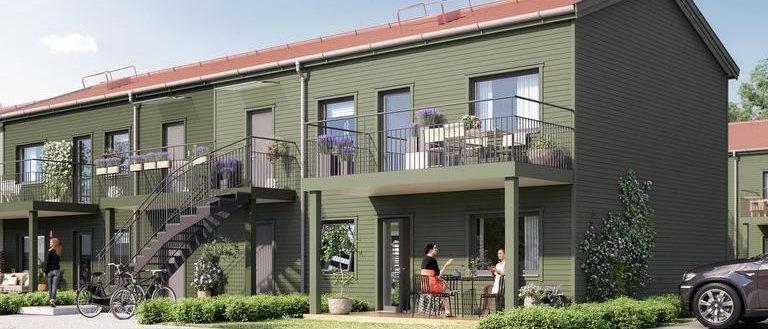 KAPTENEN / 54 lägenheter med 3-4 rum i Botkyrka/Riksten / SHH