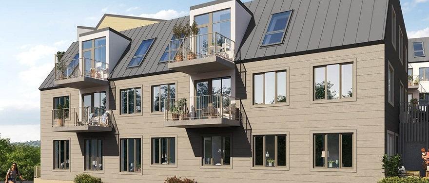 EKEN / 42 lägenheter med 2-7 rum i Vaxholm/Norrberget / BESQAB