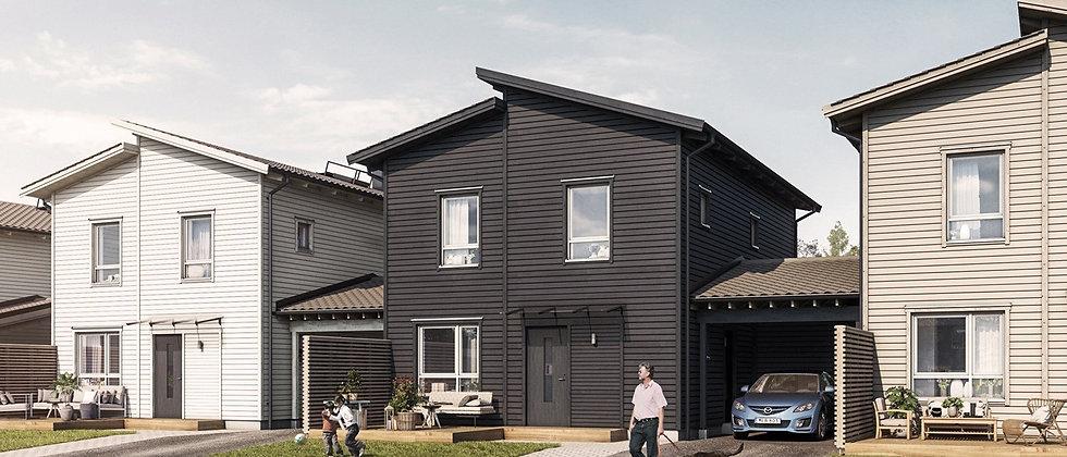 NYA BRO etapp 5 / 10 småhus med 4-5 rum i Upplands-Bro / PEAB