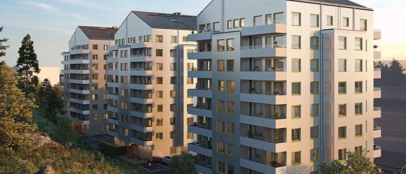 HORISONT / 41 lägenheter med 1-4 rum i Haninge/Vega / STENA FASTIGHETER